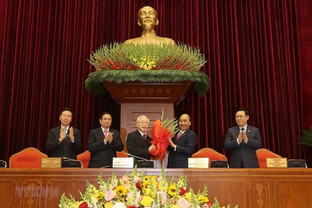 Trực tiếp: Bế mạc Đại hội đại biểu toàn quốc lần thứ XIII của Đảng  - Ảnh 1.