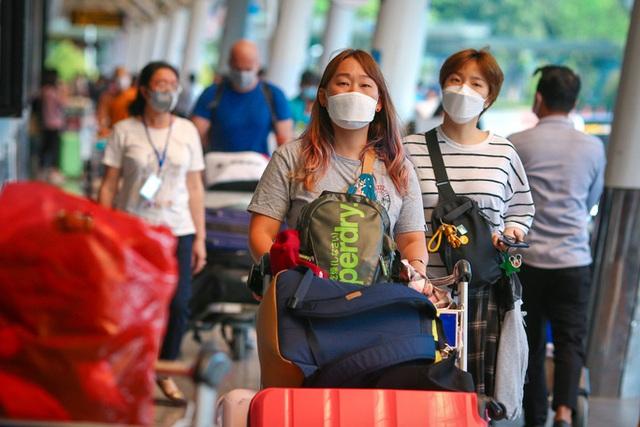 Cận cảnh sân bay Tân Sơn Nhất ngày 20 tháng Chạp - Ảnh 1.