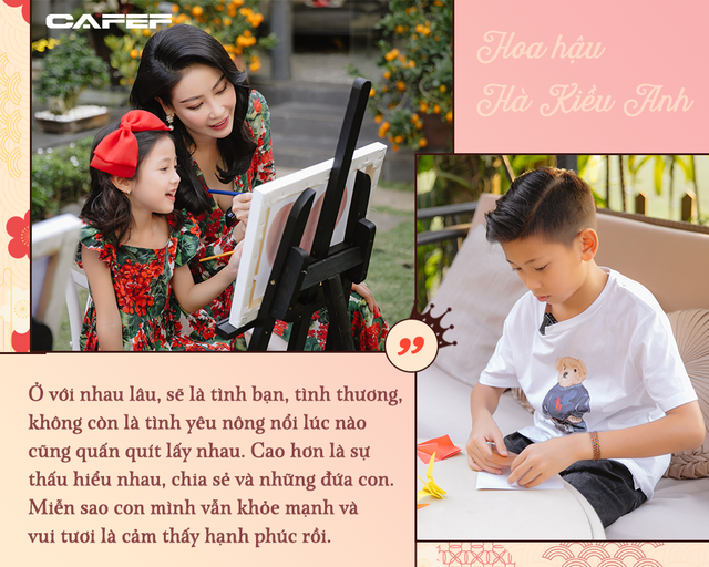 Hoa Hậu Việt Nam giàu có và viên mãn bậc nhất - Hà Kiều Anh: Kinh doanh có chồng 'chống lưng' vẫn áp lực lắm - Ảnh 9.