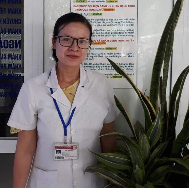 Nỗi niềm nữ bác sĩ đầu tiên điều trị bệnh nhân Covid-19 tại Chí Linh: Gác nỗi niềm riêng sau màu áo trắng blouse - Ảnh 1.