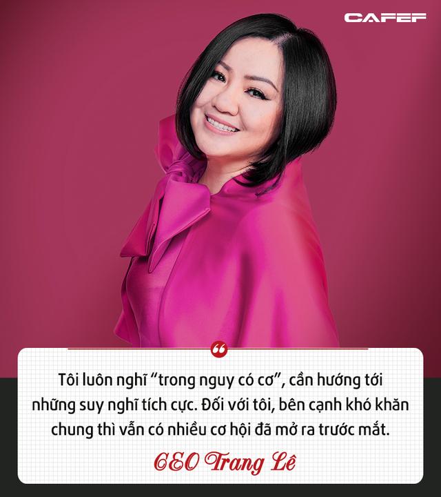 CEO Multimedia JSC – Trang Lê: Thành công không phải là kiếm được bao nhiêu tiền mà là thay đổi cuộc sống của bao nhiêu người - Ảnh 2.