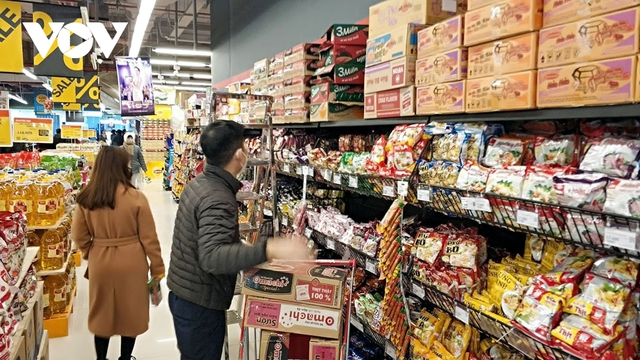 Sức mua tăng, giá cả hàng hóa Tết không có biến động đột biến  - Ảnh 1.