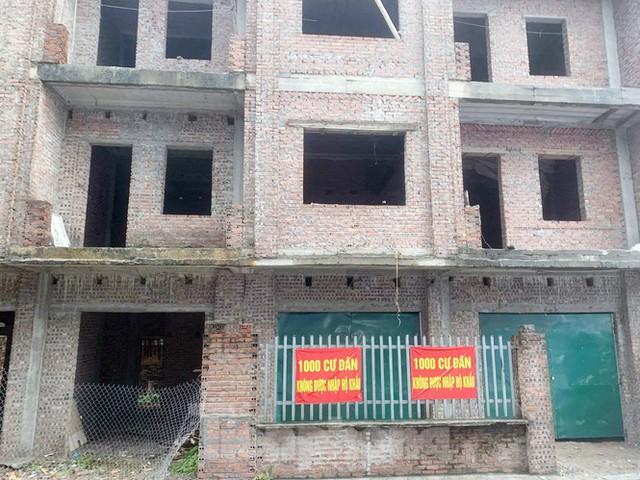 Cận cảnh khu chung cư ở Hà Nội chủ đầu tư bị điều tra lừa dối khách hàng - Ảnh 1.
