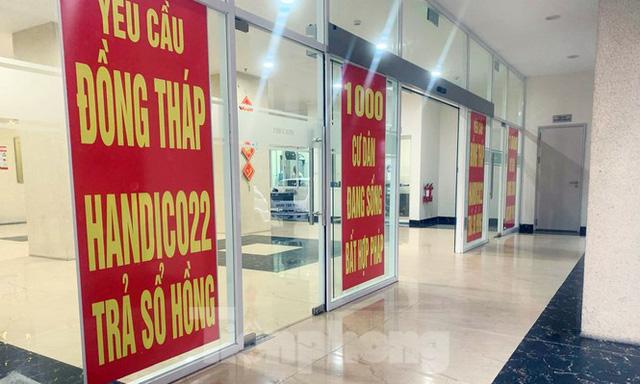 Cận cảnh khu chung cư ở Hà Nội chủ đầu tư bị điều tra lừa dối khách hàng - Ảnh 11.