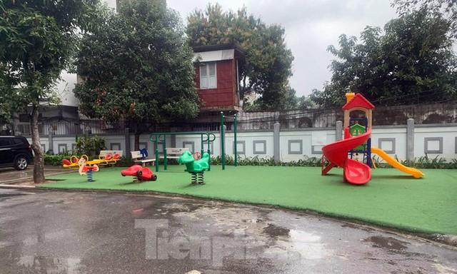 Cận cảnh khu chung cư ở Hà Nội chủ đầu tư bị điều tra lừa dối khách hàng - Ảnh 13.