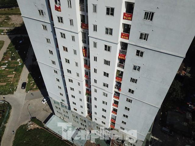 Cận cảnh khu chung cư ở Hà Nội chủ đầu tư bị điều tra lừa dối khách hàng - Ảnh 17.