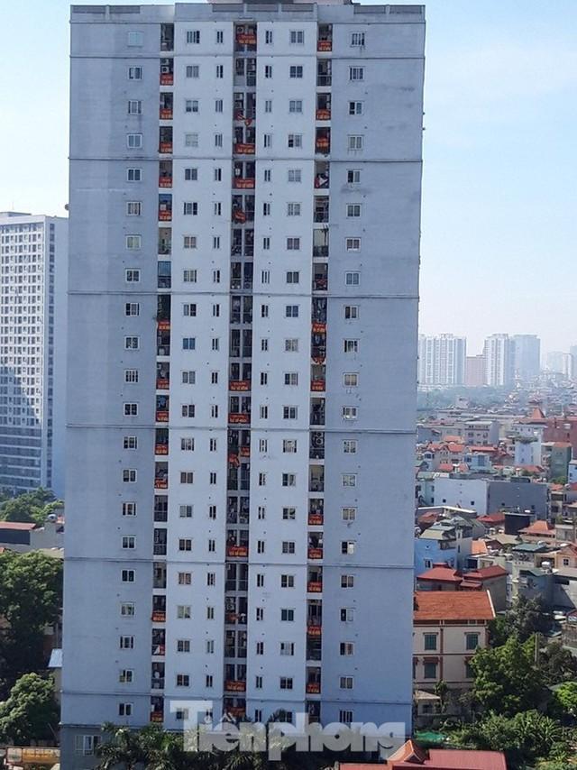 Cận cảnh khu chung cư ở Hà Nội chủ đầu tư bị điều tra lừa dối khách hàng - Ảnh 18.