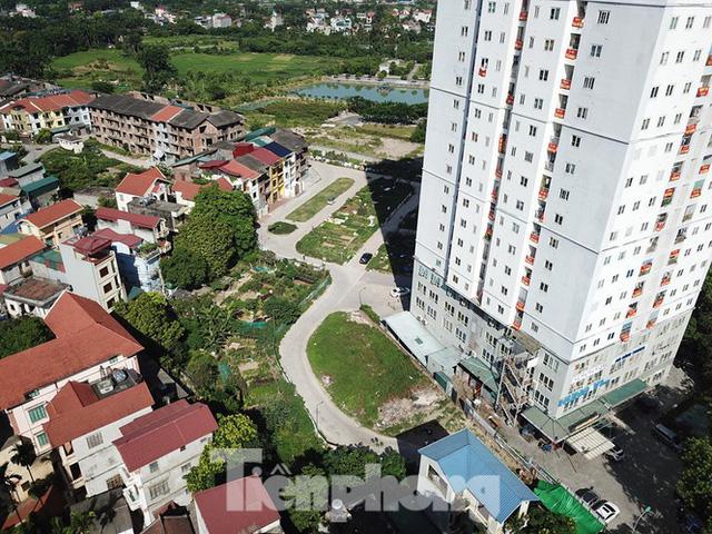 Cận cảnh khu chung cư ở Hà Nội chủ đầu tư bị điều tra lừa dối khách hàng - Ảnh 19.
