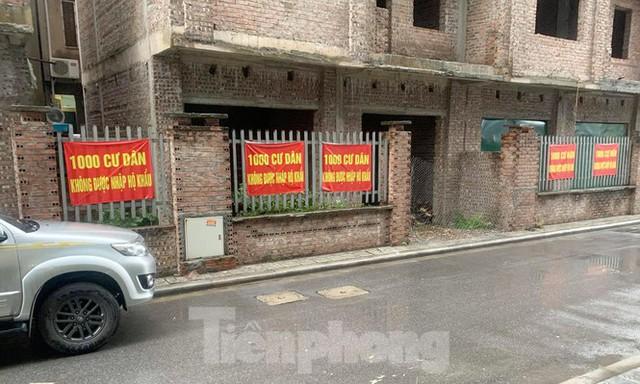 Cận cảnh khu chung cư ở Hà Nội chủ đầu tư bị điều tra lừa dối khách hàng - Ảnh 8.
