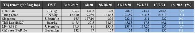 Triển vọng thị trường cao su thế giới năm 2021 - Ảnh 3.