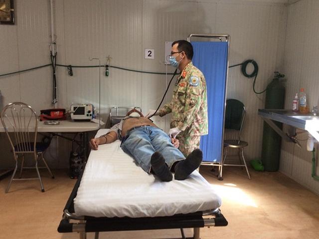Tết xúc động kỳ lạ của người lính mũ nồi xanh Việt Nam tại Nam Sudan  - Ảnh 6.