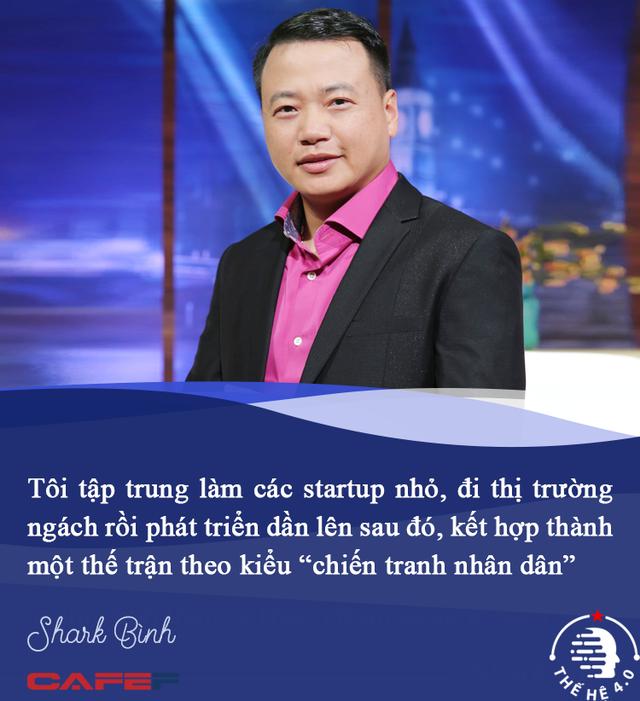 Shark Bình: Khi làm startup kiểu 'con gián', tôi thanh thản và sung sướng hơn rất nhiều! - Ảnh 3.