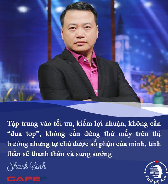 Shark Bình: Khi làm startup kiểu 'con gián', tôi thanh thản và sung sướng hơn rất nhiều! - Ảnh 5.