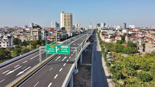 Toàn cảnh những công trình gỡ ùn tắc giao thông cho Hà Nội thời gian qua  - Ảnh 16.