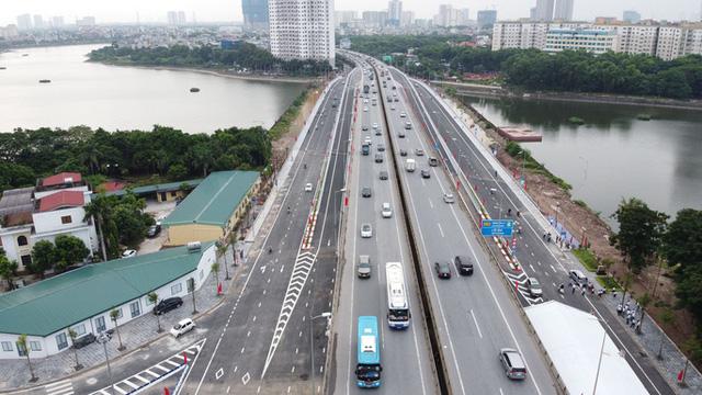 Toàn cảnh những công trình gỡ ùn tắc giao thông cho Hà Nội thời gian qua  - Ảnh 3.