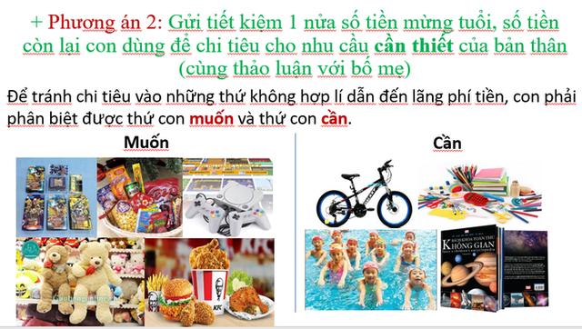Cô giáo tiểu học ở Hà Nội làm hẳn bài giảng tâm huyết dạy trẻ về phong tục lì xì, bố mẹ chia sẻ rần rần vì quá hữu ích - Ảnh 5.
