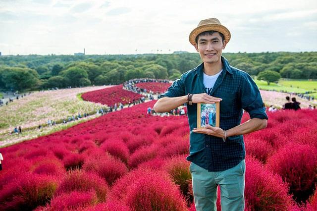 Chàng trai Việt mang di ảnh bố mẹ đi khắp nước Nhật lộ tài nấu nướng đẳng cấp: Đưa đồ ăn đơn giản lên 5 sao - Ảnh 3.