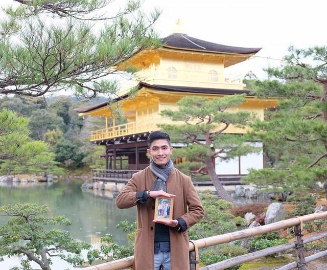 Chàng trai Việt mang di ảnh bố mẹ đi khắp nước Nhật lộ tài nấu nướng đẳng cấp: Đưa đồ ăn đơn giản lên 5 sao - Ảnh 4.