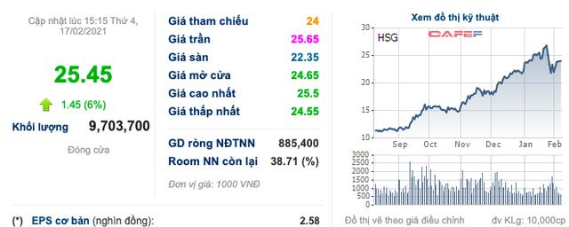 Thị trường bứt phá mạnh, Tập đoàn Hoa Sen (HSG) muốn lùi quyết định mua 22 triệu cổ phiếu quỹ, ngược lại sẽ bán hết số đang có - Ảnh 1.