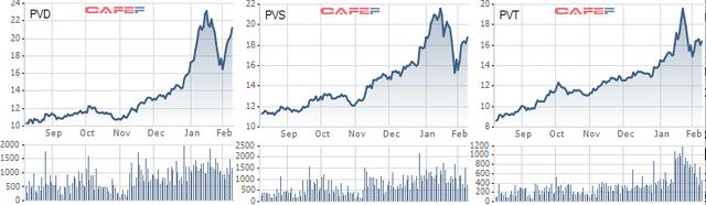 Hưởng lợi giá nguyên liệu: Giá dầu liên tục phá đỉnh, cổ phiếu họ P tưng bừng đón năm 2021 - Ảnh 2.