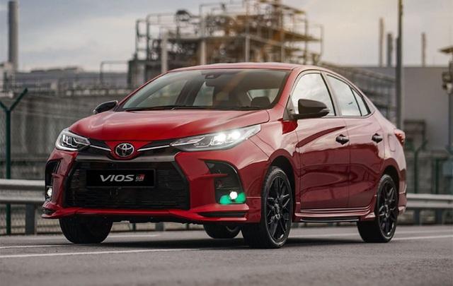 Lộ diện Toyota Vios 2021 tại Việt Nam: Đèn LED sang chảnh như Lexus, có bản thể thao cạnh tranh Honda City RS - Ảnh 1.