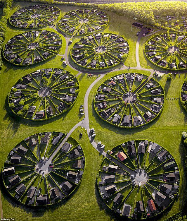 Độc đáo khu đô thị hình tròn tuyệt đẹp tại Đan Mạch  - Ảnh 1.