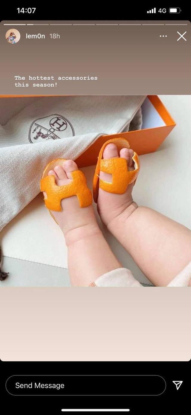 Rich kid 2021 phải đi dép Hermès vỏ cam: Giá trị 0 đồng nhưng chất ngang bản gốc - Ảnh 3.