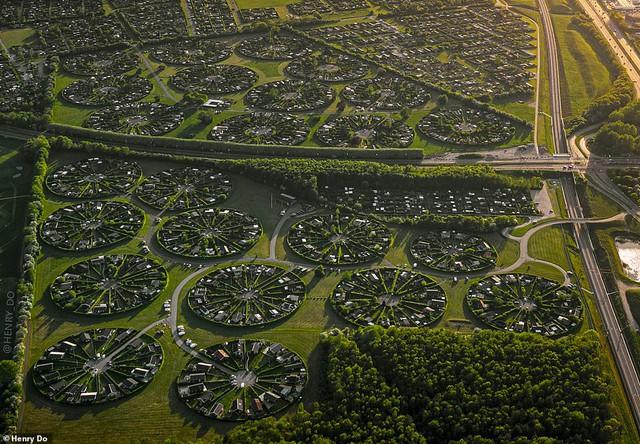 Độc đáo khu đô thị hình tròn tuyệt đẹp tại Đan Mạch  - Ảnh 2.