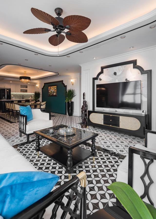 Căn hộ phong cách Đông Dương: Tổng hết 1,2 tỷ, phòng khách vừa cổ điển vừa tây tây - Ảnh 3.