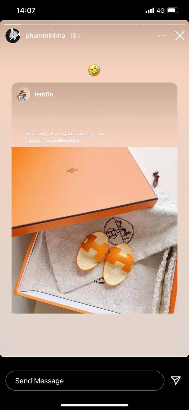 Rich kid 2021 phải đi dép Hermès vỏ cam: Giá trị 0 đồng nhưng chất ngang bản gốc - Ảnh 4.