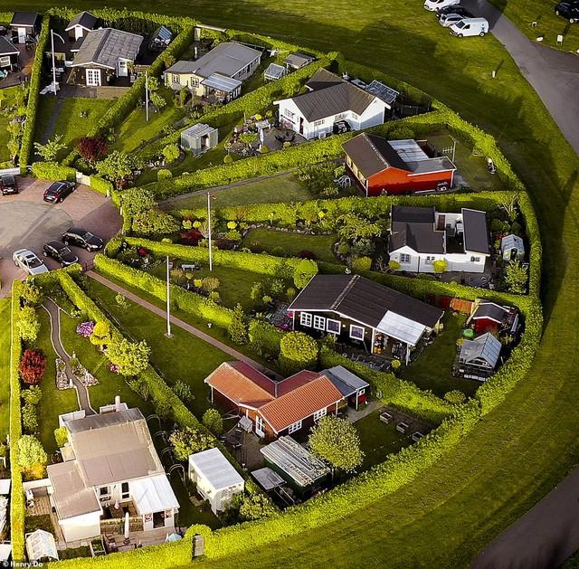 Độc đáo khu đô thị hình tròn tuyệt đẹp tại Đan Mạch  - Ảnh 3.
