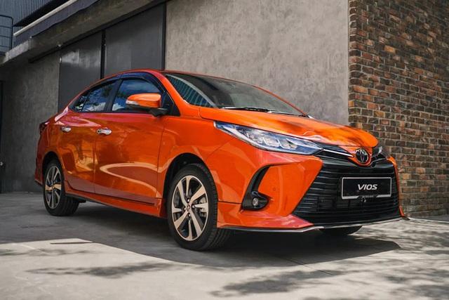 Lộ diện Toyota Vios 2021 tại Việt Nam: Đèn LED sang chảnh như Lexus, có bản thể thao cạnh tranh Honda City RS - Ảnh 7.
