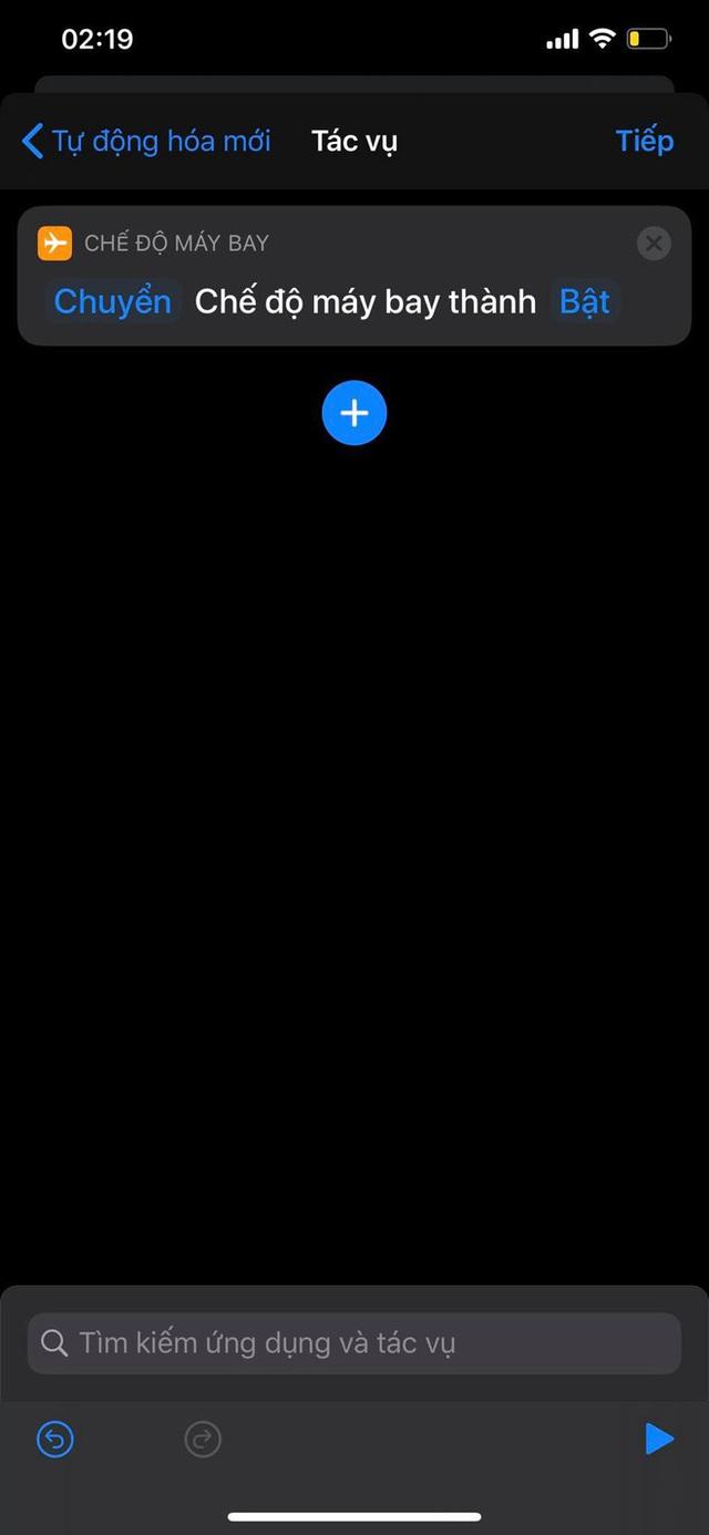 Mẹo bật, tắt Chế độ máy bay tự động theo khung giờ nhất định trên iPhone - Ảnh 8.