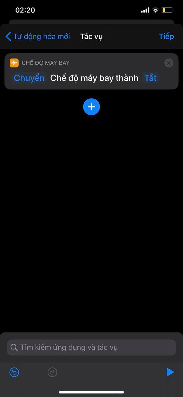 Mẹo bật, tắt Chế độ máy bay tự động theo khung giờ nhất định trên iPhone - Ảnh 9.