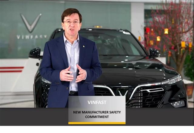 Vinfast là thương hiệu ô tô duy nhất tại khu vực đoạt giải Hãng xe có cam kết cao về an toàn của Asean NCAP - Ảnh 1.