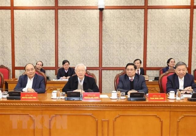 Tổng Bí thư, Chủ tịch nướcchủ trì phiên họp đầu tiên của Bộ Chính trị và Ban Bí thư  - Ảnh 2.