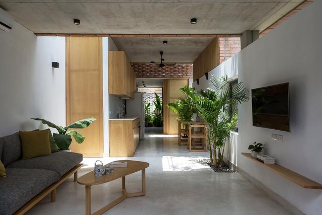 Ngôi nhà 64 m2 tại Hà Nội như một khu vườn với rau và cây ăn trái - Ảnh 4.