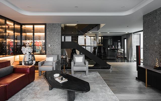 Ấn tượng với không gian của căn Duplex 200 m2 lấp đầy đồ chơi tiền tỷ ở Hà Nội - Ảnh 11.
