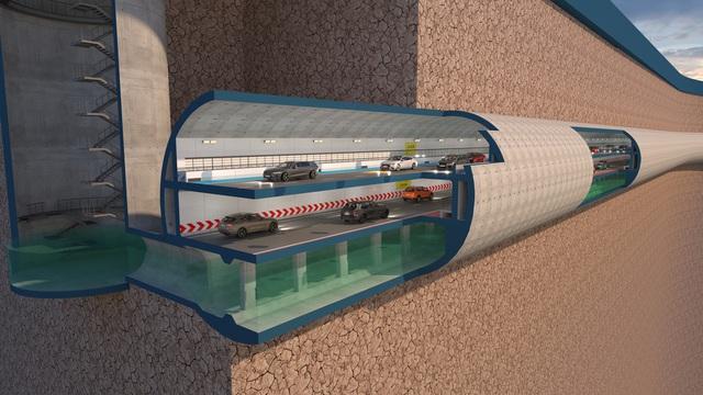 Đề xuất miễn phí lập quy hoạch hầm ngầm chống ngập kết hợp với cao tốc ngầm dọc sông Tô Lịch - Ảnh 4.