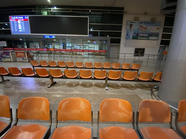 Chùm ảnh: Hình ảnh trái ngược ở ga quốc tế Tân Sơn Nhất trong năm nay và năm trước dịp gần Tết Nguyên đán - Ảnh 14.