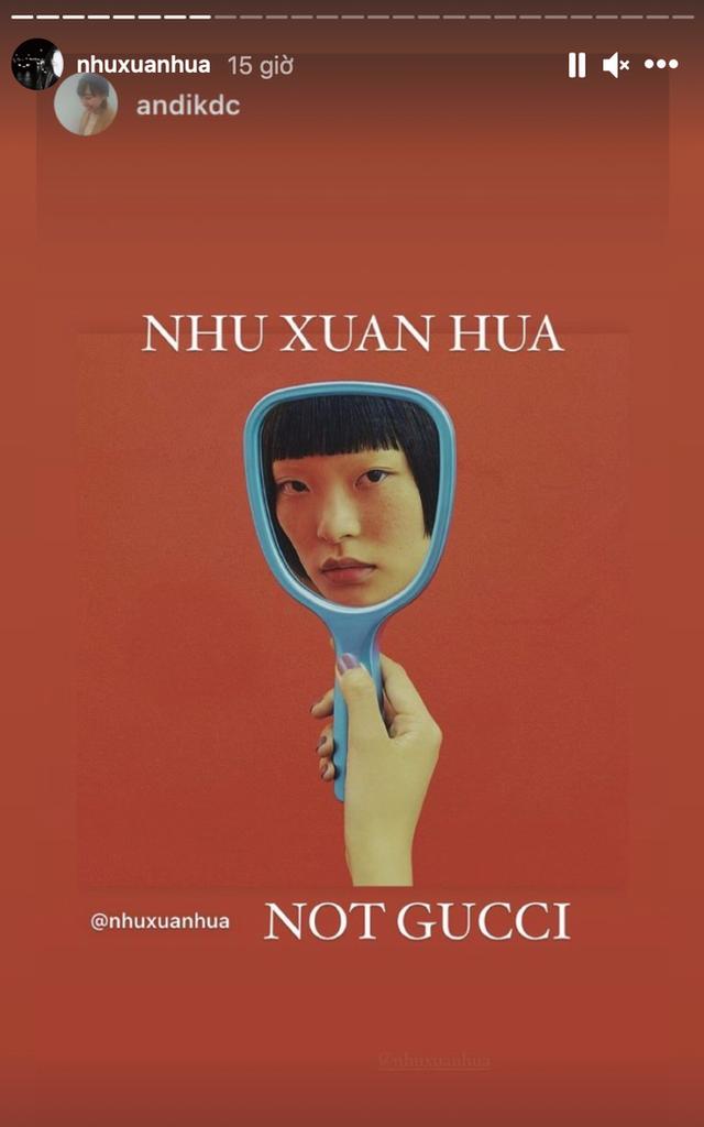 Gucci bị nghệ sĩ gốc Việt tố ăn cắp ý tưởng: Đạo nhái hình gốc từ năm 2016, giống từ cách chụp cận mặt người mẫu qua chiếc gương tay, đến bố cục, phông nền - Ảnh 3.
