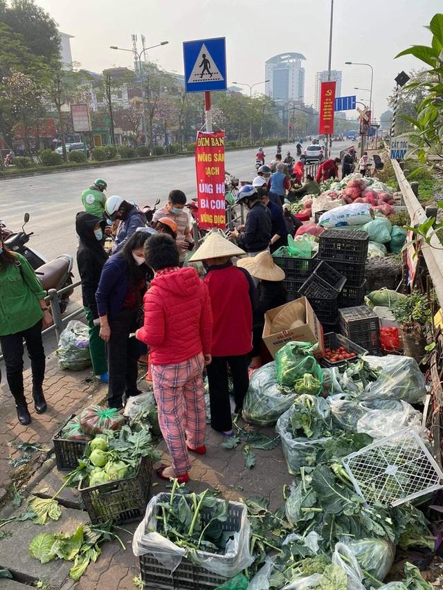 Người Hà Nội đội nắng, nườm nượp đến giải cứu nông sản cho nông dân Hải Dương: 15 tấn rau bán hết veo trong vòng vài tiếng - Ảnh 5.