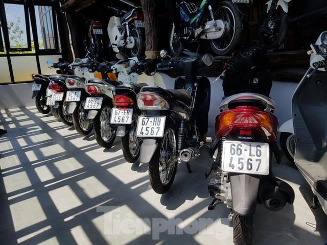 Mê mẩn bộ sưu tập 500 chiếc xe máy biển số khủng - Ảnh 6.