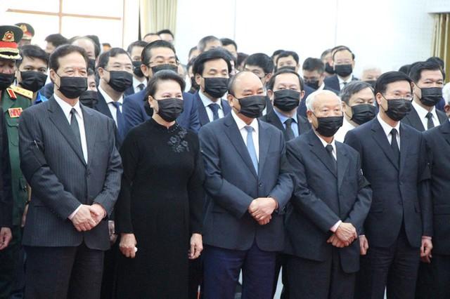 Xúc động dòng sổ tang tiễn biệt nguyên Phó Thủ tướng Trương Vĩnh Trọng - Ảnh 1.