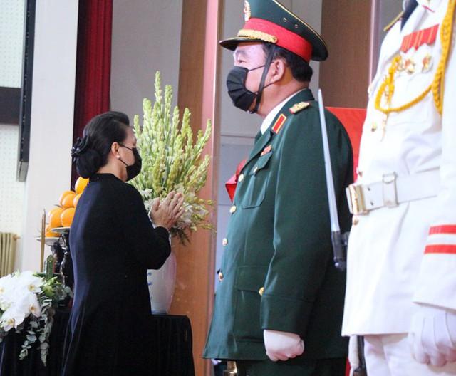 Xúc động dòng sổ tang tiễn biệt nguyên Phó Thủ tướng Trương Vĩnh Trọng - Ảnh 3.