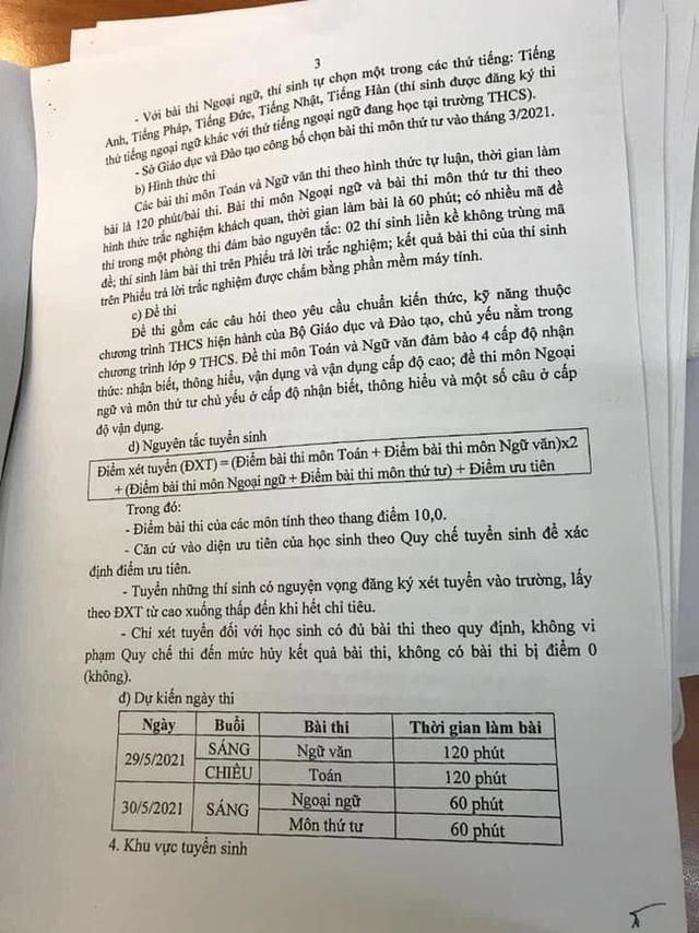 4 thay đổi quan trọng trong kỳ thi tuyển sinh lớp 10 năm 2021 ở Hà Nội, học sinh cần nắm rõ tránh đăng ký nguyện vọng sai sót - Ảnh 3.