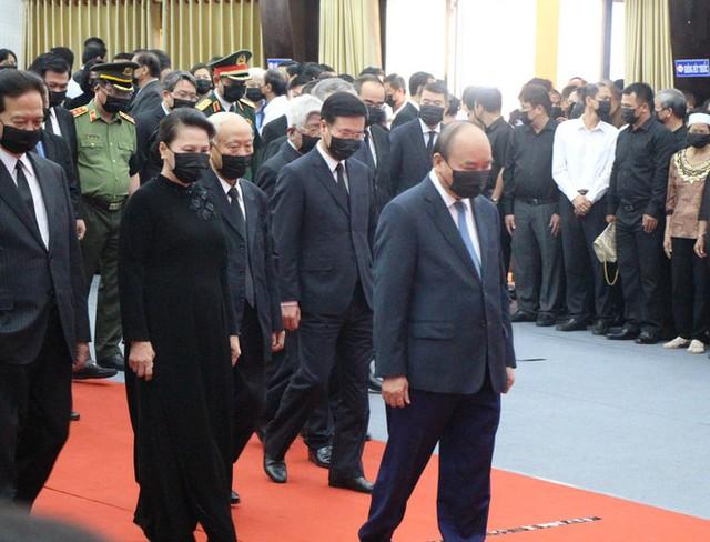Xúc động dòng sổ tang tiễn biệt nguyên Phó Thủ tướng Trương Vĩnh Trọng - Ảnh 4.