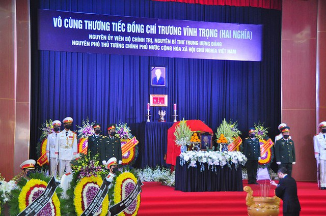 Xúc động dòng sổ tang tiễn biệt nguyên Phó Thủ tướng Trương Vĩnh Trọng - Ảnh 5.