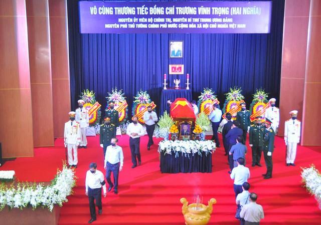 Xúc động dòng sổ tang tiễn biệt nguyên Phó Thủ tướng Trương Vĩnh Trọng - Ảnh 6.