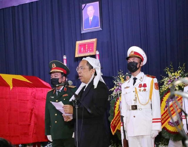 Xúc động tiễn đưa nguyên Phó Thủ tướng Trương Vĩnh Trọng  - Ảnh 16.